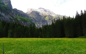 Bernese Alps, mountains, Lenk, Switzerland, Alps, Swiss Alps