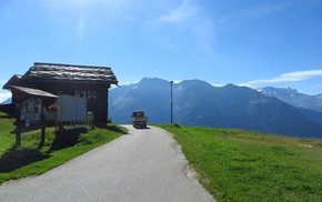 Switzerland, Aletsch Glacier, mountains, Rideralp