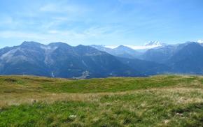 Switzerland, mountains, Aletsch Glacier, Rideralp