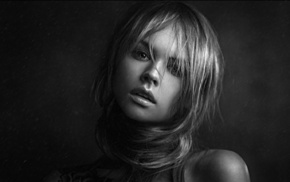 mouth, girl, Anastasia Scheglova