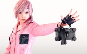 pink, girl, render, Louis Vuitton, Claire Farron, artwork