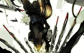 artwork, Final Fantasy, Final Fantasy VII Advent Children, anime, Final Fantasy VII