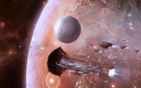 spaceship, EVE Online, space