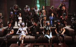 Samantha Traynor, Mass Effect, Jack, video games, Commander Shepard, Mass Effect 3
