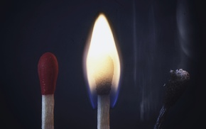 fire, matches