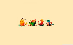 Charmander, Pokmon, Pikachu, Bulbasaur