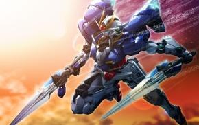 Mobile Suit Gundam 00, Gundam 00 exia, mech, Gundam, robot