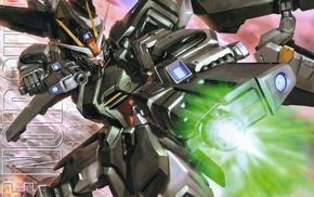 robot, Gundam, mech