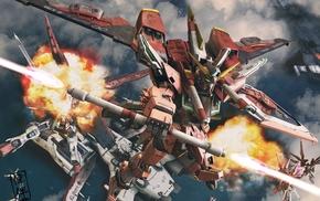 mech, robot, Gundam