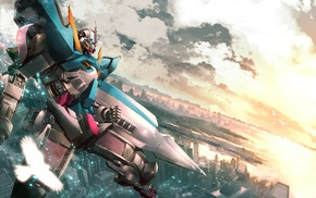 Mobile Suit Gundam 00, Gundam 00 exia, mech, Gundam