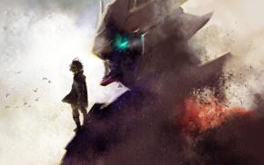 mech, Mobile Suit Gundam Iron, Blooded Orphans, Gundam