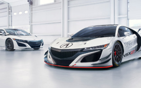 vehicle, race cars, car, Acura NSX