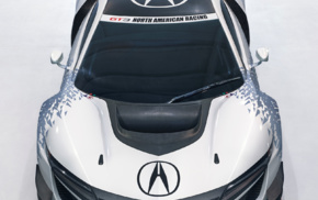 Acura NSX, portrait display, car, simple background, race cars, vehicle