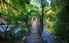 rope bridge, bridge