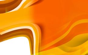 orange, artwork, abstract, bright