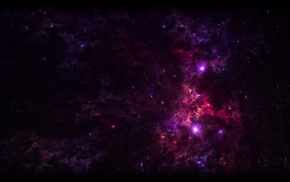 space, galaxy, purple
