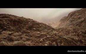 desert, CGI