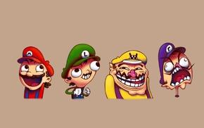 Waluigi, Wario, Super Mario Bros., Super Mario, Nintendo, Luigi