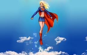 comics, Supergirl, superhero, DC Comics, Michael Turner
