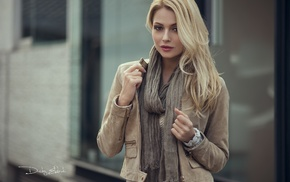brown eyes, depth of field, face, blonde, girl, portrait