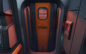 Star Citizen, MISC Starfarer, video games, ship