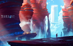 Duelyst, digital art, concept art, artwork