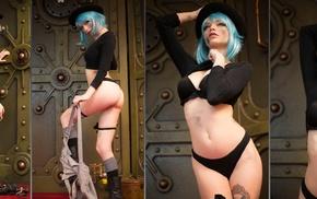 Katrina Wilkinson, model, girl, collage
