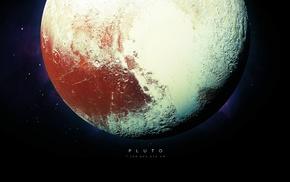 space, stars, planet, Pluto, universe