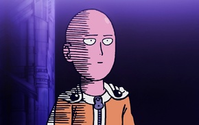Saitama, anime, One, Punch Man