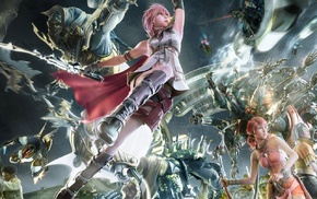 Final Fantasy XIII, Final Fantasy, Claire Farron, Oerba Dia Vanille
