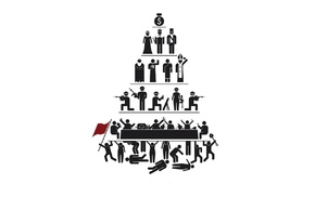 propaganda, pyramid, capitalism
