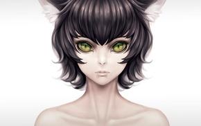 animal ears, cat girl, original characters