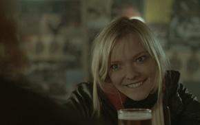 smiling, Koselig med Peis, face, Viktoria Winge, norwegian, girl