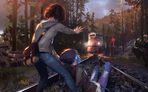 train, Life Is Strange, Max Caulfield, Chloe Price