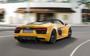 Audi R8 Spyder, Audi, Audi R8, car