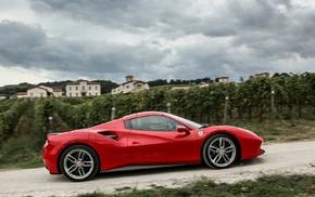 Ferrari 488 GTB, Ferrari, car