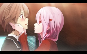 Yuzuriha Inori, Guilty Crown, Ouma Shuu