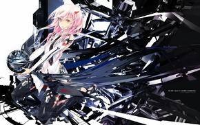 anime girls, anime, Guilty Crown, manga, Yuzuriha Inori