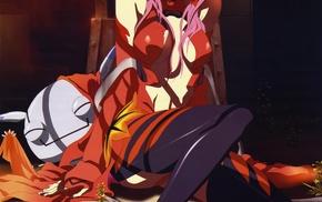 anime girls, anime, Inori Yuzuriha, Yuzuriha Inori, Guilty Crown