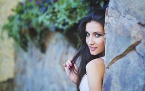 portrait, model, face, girl