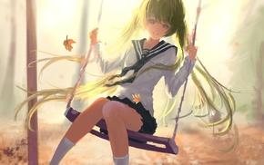 twintails, anime, anime girls, Vocaloid, long hair, skirt