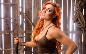 wrestling, redhead, WWE, dyed hair, Becky Lynch