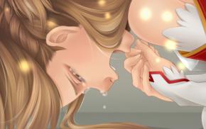 Sword Art Online, Yuuki Asuna, crying