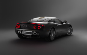 vehicle, Spyker C8 Preliator, simple background, car