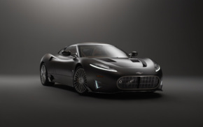 vehicle, simple background, car, Spyker C8 Preliator