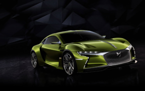 car, DS E, Tense, simple background, concept cars, electric car