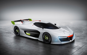 electric car, concept cars, car, Pininfarina H2 Speed, vehicle