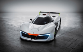 vehicle, car, concept cars, Pininfarina H2 Speed, electric car