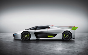 electric car, vehicle, Pininfarina H2 Speed, concept cars, car
