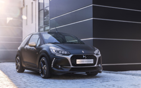 vehicle, Citron, Convertible, car, DS 3 Performance